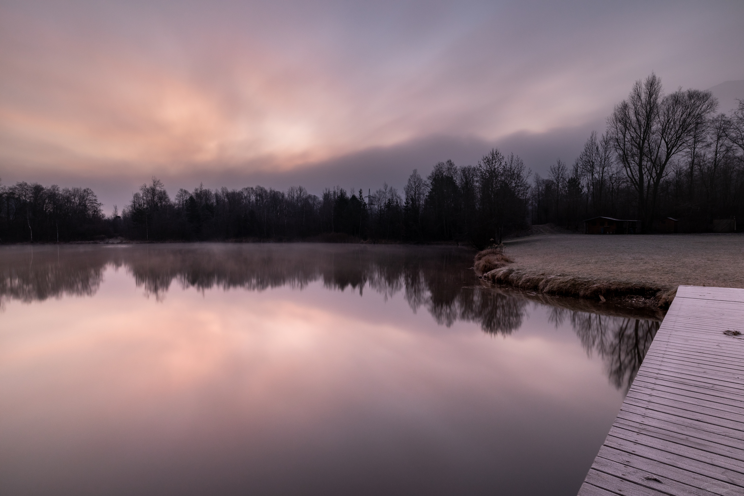Just before Sunrise - Linsendorfer See - Lake Linsendorf